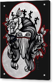741 Acrylic Print by Gus TripleZero