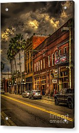 7th Avenue Acrylic Print by Marvin Spates