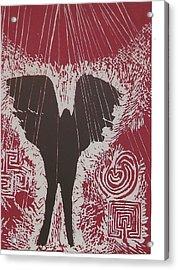 7.the Sun Acrylic Print by Mollie Townsend