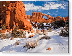 Arches National Park Acrylic Print by Utah Images
