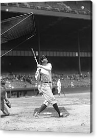 Babe Ruth New York Yankees Acrylic Print by Retro Images Archive