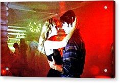 Fire Walk With Me Acrylic Print by Luis Ludzska