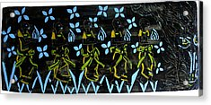 Five Wise Virgins Acrylic Print by Gloria Ssali