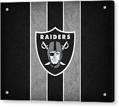 Oakland Raiders Acrylic Print by Joe Hamilton