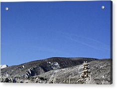 The Bitterroot Valley  Acrylic Print by Larry Stolle
