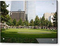 9/11 Grass Acrylic Print by Rob Hans