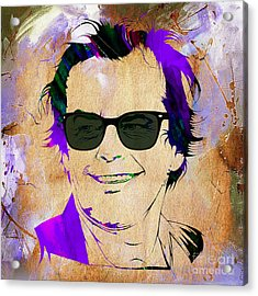 Jack Nicholson Collection Acrylic Print by Marvin Blaine