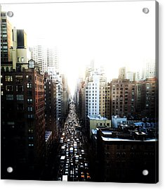 Manhattan Acrylic Print by Natasha Marco