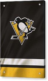 Pittsburgh Penguins Acrylic Print by Joe Hamilton