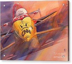 95 Winner Acrylic Print by Robert Hooper