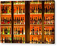 99 Bottles Of Beer On The Wall Acrylic Print by Semmick Photo
