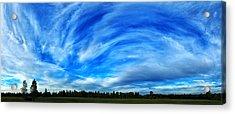 A Beautiful Sky Panorama Acrylic Print by ABeautifulSky Photography