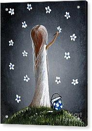 Whimsical Paintings Acrylic Print by Shawna Erback