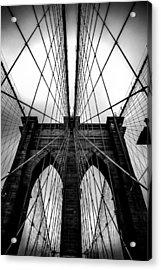 A Brooklyn Perspective Acrylic Print by Az Jackson