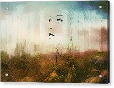 A Castle On A Cloud Acrylic Print by Georgiana Romanovna
