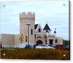 A Cheese Castle Acrylic Print by Kay Novy