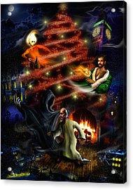 A Christmas Carol Acrylic Print by Alessandro Della Pietra