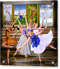 A Dance For All Seasons Acrylic Print by Reggie Duffie
