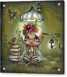A Fairyland Novel Acrylic Print by Robin Sample