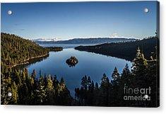 A Generic Photo Of Emerald Bay Acrylic Print by Mitch Shindelbower