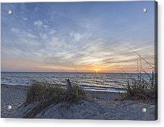A Glass Of Sunrise Acrylic Print by Jon Glaser
