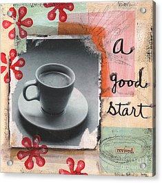 A Good Start Acrylic Print by Linda Woods
