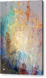A Heart So Big - Abstract Art Acrylic Print by Jaison Cianelli