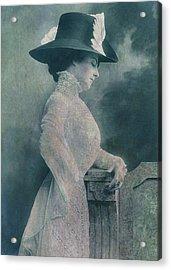 A Lady Ponders Acrylic Print by Sarah Vernon