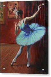 A Legacy Of Elegance Acrylic Print by Anna Rose Bain