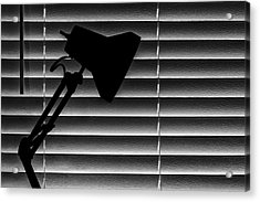 A Light In The Dark Still Life Acrylic Print by Tom Mc Nemar