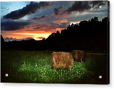 A Little Country Acrylic Print by Adam LeCroy