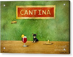 a little Sangria... Acrylic Print by Will Bullas