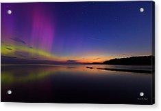 A Majestic Sky Acrylic Print by Everet Regal
