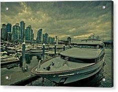 A Million Dollar Ride Yacht  Acrylic Print by Eti Reid