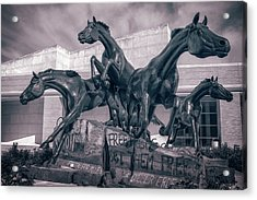 A Monument To Freedom II Acrylic Print by Joan Carroll