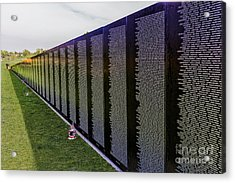 A Moving Wall Acrylic Print by Jon Burch Photography