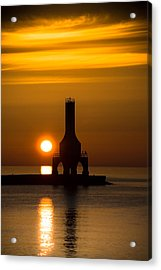 A New Day Acrylic Print by James  Meyer