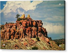 A New Mexico View Acrylic Print by Jeff Swan