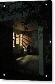 A Peaceful Corner Entrance Acrylic Print by Guy Ricketts