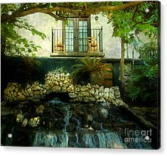 A Peaceful Night  Acrylic Print by Peggy  Franz