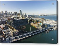 A Perfect Day On The Bay Acrylic Print by David Levy
