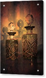 A Play Of Light At Dusk Acrylic Print by Loriental Photography