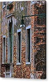A Room In Venice Acrylic Print by Tom Prendergast
