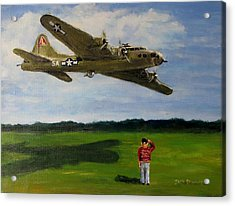 A Salute To The Greatest Generation Acrylic Print by Jack Skinner