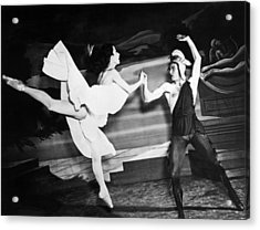 A Scene With The Russian Ballet Acrylic Print by Underwood Archives