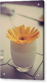 A Simple Thing Acrylic Print by Laurie Search