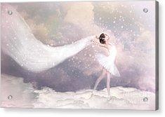 A Sort Of Fairytale Acrylic Print by Spokenin RED