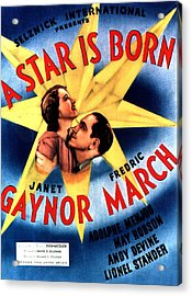 A Star Is Born Acrylic Print by Studio Release
