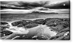 A Storm Brewing Acrylic Print by John Farnan