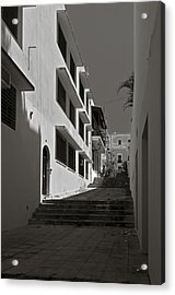 A Street With No Name  Acrylic Print by Mario Celzner